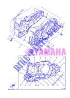 CRANKCASE for Yamaha XP500 2013