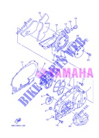 COVER   ENGINE 1 for Yamaha XP500 2013