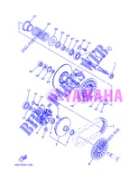 CLUTCH 2 for Yamaha XP500A 2013