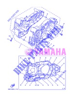 CRANKCASE for Yamaha XP500A 2013