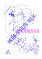 SEAT for Yamaha XP500A 2013