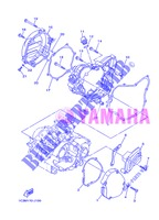 COVER   ENGINE 1 for Yamaha YZ125 2013