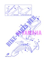 FENDER for Yamaha YZ125 2013