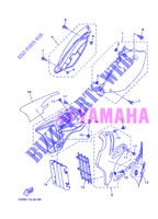SIDE COVER for Yamaha YZ125 2013