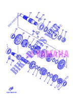 TRANSMISSION for Yamaha YZ125 2013