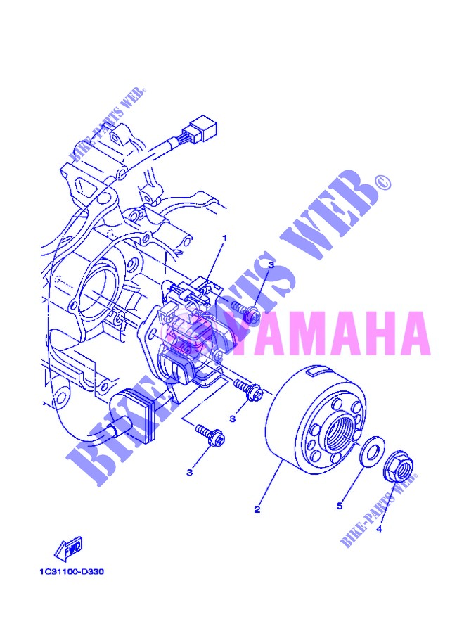 IGNITION for Yamaha YZ125 2013