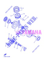 CRANKSHAFT / PISTON for Yamaha YZ250F 2013