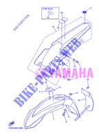 FENDER for Yamaha YZ250F 2013