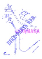 HANDLEBAR & CABLES for Yamaha YZ250F 2013