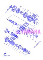 TRANSMISSION for Yamaha YZ250F 2013