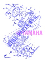 COVER   ENGINE 1 for Yamaha YZ250F 2013