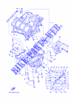 CRANKCASE for Yamaha MT09A 2014