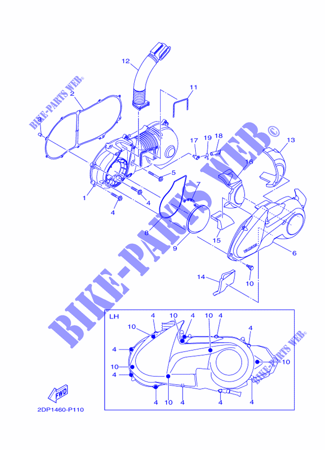 yamaha motorcycle parts diagram smartdraw diagrams yamaha xj550 motorcycle handlebar parts diagram part number 22 razor electric scooter wiring diagram motorcycle parts