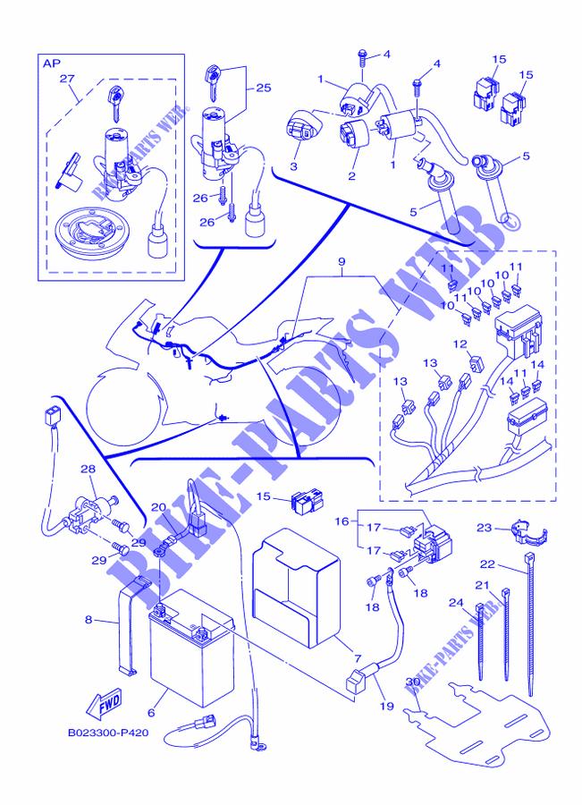 Yamaha 300 Wiring Diagram