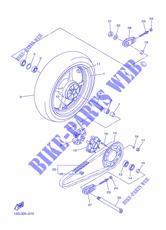Yamaha Moto 600 2015 R6 Race Blue Yzfr6 Rear Wheel: 2015 Moto Yamaha R6 Engine Diagram At Outingpk.com