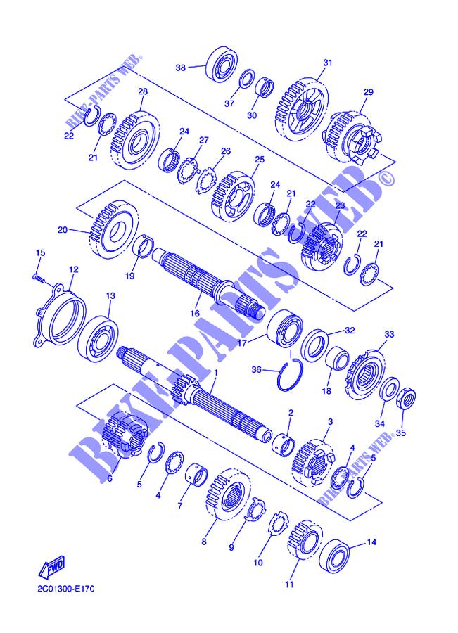 34 2007 Yamaha R6 Parts Diagram