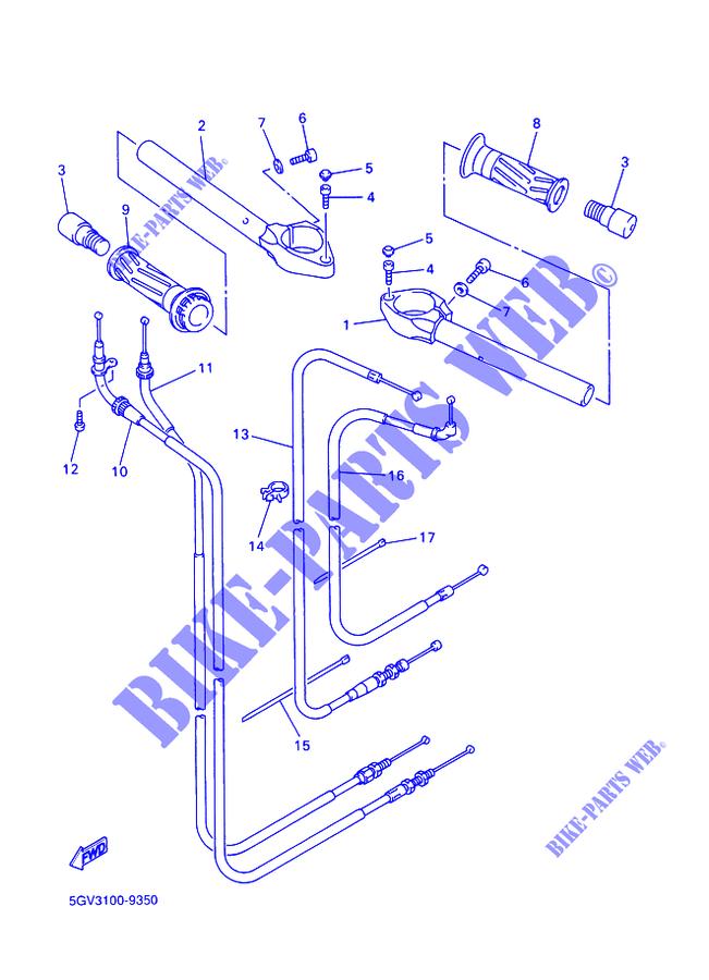 Yamaha Moto 600 2002 R6 Yzfr6 Handlebar Cables: 2015 Moto Yamaha R6 Engine Diagram At Outingpk.com