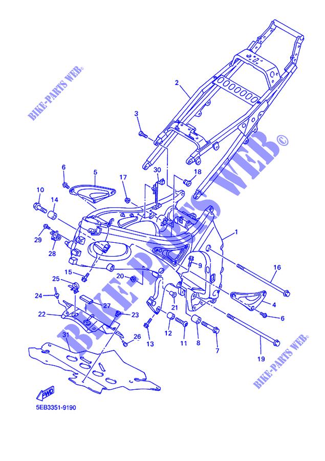Yamaha Moto 600 2001 R6 Yzfr6 Frame: 2015 Moto Yamaha R6 Engine Diagram At Outingpk.com