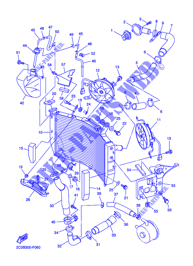 2007 Yamaha R6 Parts Diagram