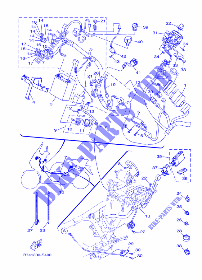 Yamaha X Wiring Diagram