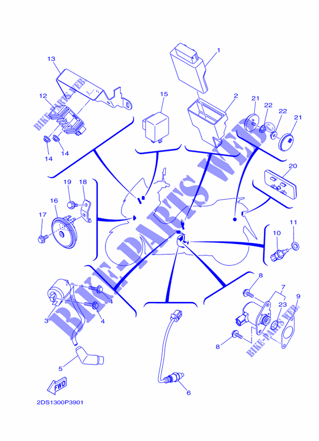Yamaha Scooter Wiring Diagrams | Wiring Diagram on