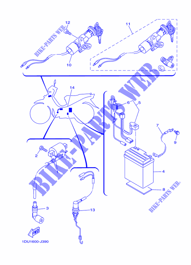 [DIAGRAM_1JK]  ELECTRICAL 1 for Yamaha CRYPTON 110 2018 # YAMAHA - Genuine Spare Parts  Catalogue | Wiring Diagram Of Yamaha Crypton |  | YAMAHA - Genuine Spare Parts Catalogue