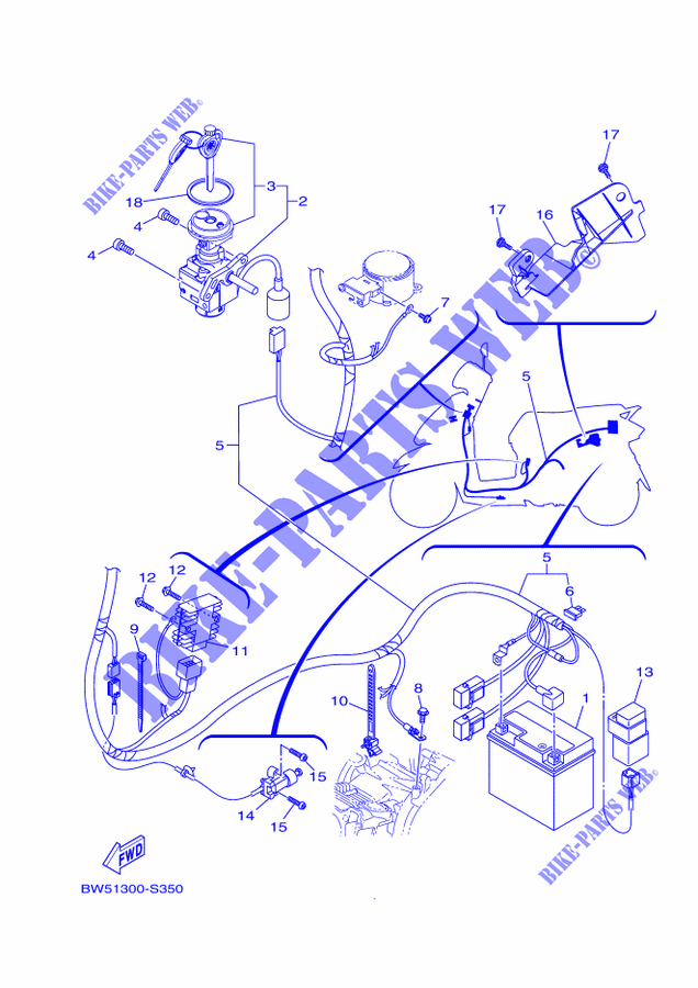 moped kick starter schematic electrical 1 for yamaha delight 125 2018 yamaha genuine spare  electrical 1 for yamaha delight 125