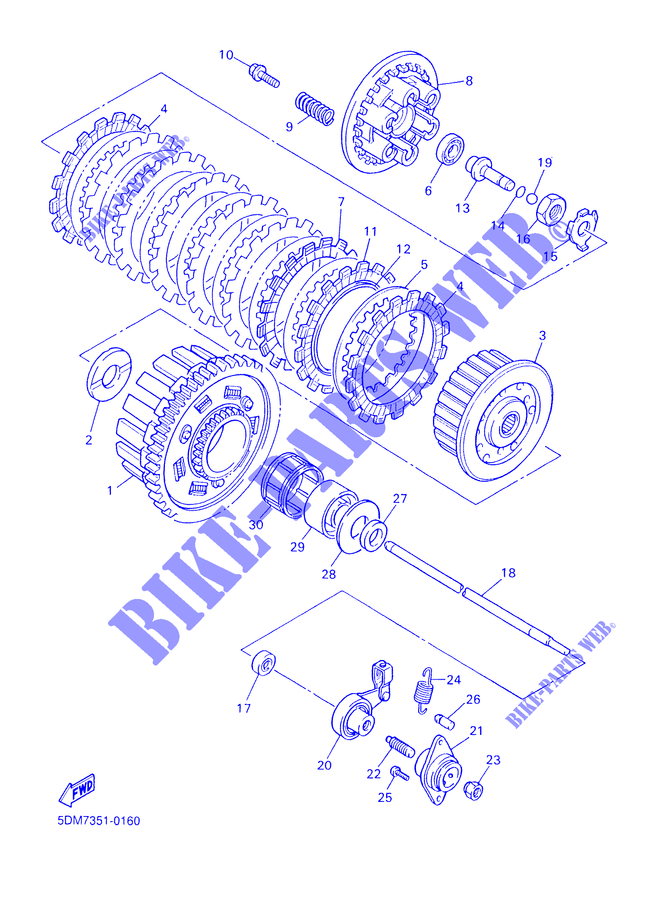 Front Brake Drum Seal 30-22001B Boss Bearing