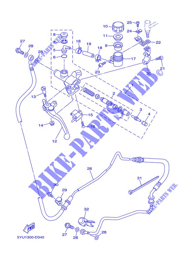 Yamaha 3GM-26455-00-00 BUSH; 3GM264550000 3GM-26455-00-00 26H-26455-00-00