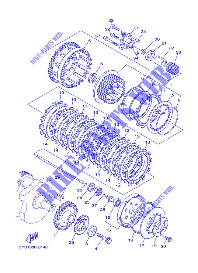 WASHER  CONICAL SPRI Yamaha 90208-20001-00