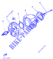 CYLINDER for Yamaha PW50 1997