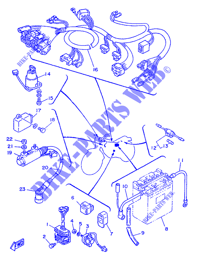 ELECTRICAL 1 for Yamaha SR250 1996 # YAMAHA - Genuine Spare ... on yamaha motorcycle wheels and tires, yamaha rd 350 wiring diagram, yamaha generator wiring diagram, yamaha motorcycle drawings, yamaha motorcycle ignition system, yamaha dt 175 wiring-diagram, yamaha xs1100 wiring-diagram, yamaha seca xj650 wiring-diagram, yamaha moto 4 wiring diagram, yamaha 650 wiring diagram, yamaha wiring harness diagram, yamaha rt100 schematic, yamaha banshee wiring-diagram, yamaha motorcycle paint codes, yamaha grizzly 600 wiring diagram, yamaha schematic diagram, yamaha dt 100 wiring diagram, yamaha wiring schematics, yamaha virago wiring-diagram, yamaha xs650 wiring-diagram,