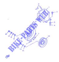 Yamaha 95027-08016-00 Bolt Small Flange; 950270801600 Made by Yamaha