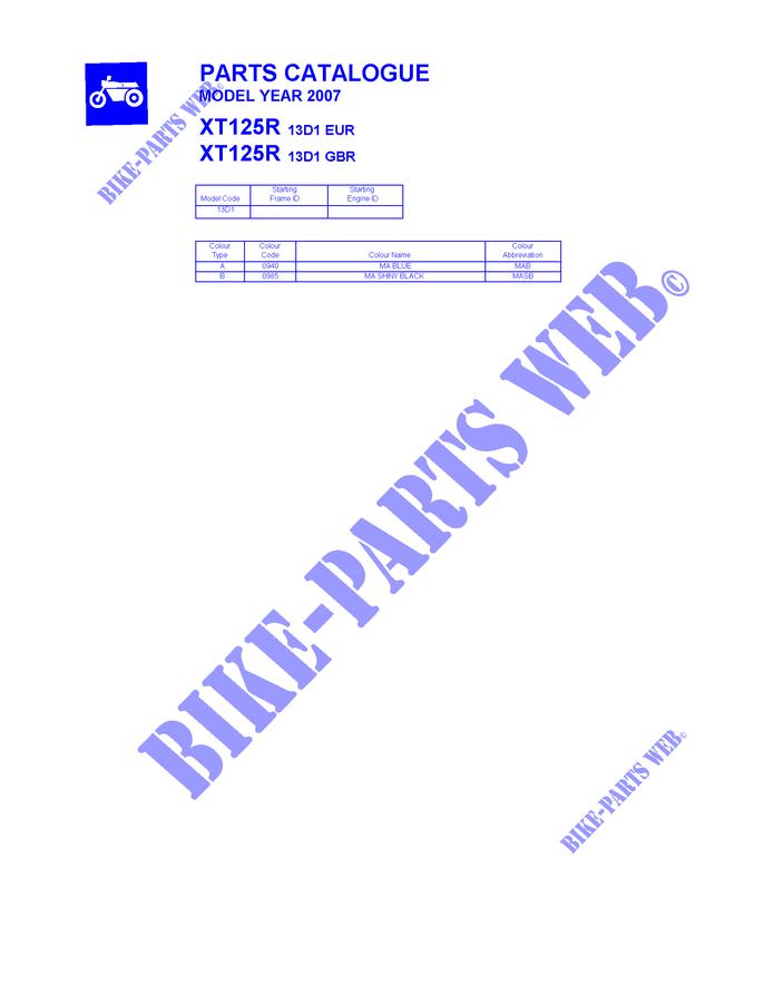show original title Details about  /Yamaha xt125 R 06 07 08 hel brake hoses Braid OEM Parts hbf9678