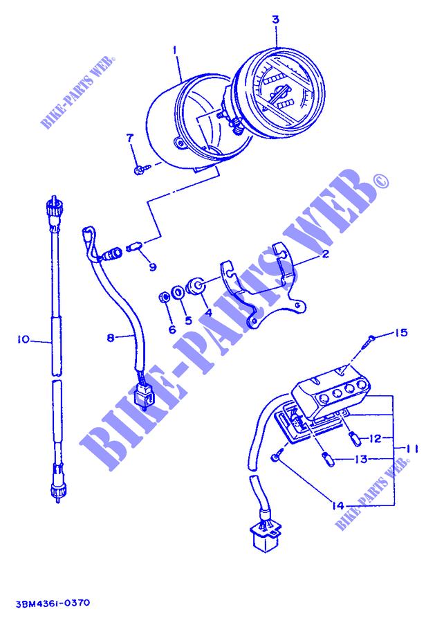 SDOMETER for Yamaha XV535 1996 # YAMAHA - Genuine Spare ... on
