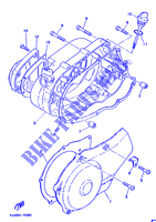 COVER   ENGINE 1 for Yamaha DT125MX 1987