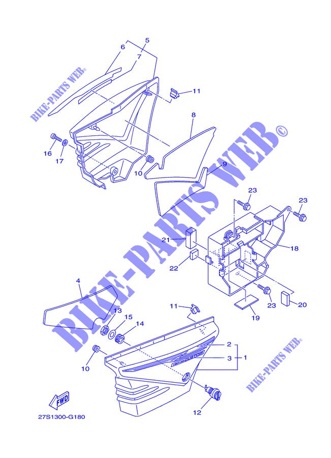 Yamaha Ybr 125 Parts Diagram