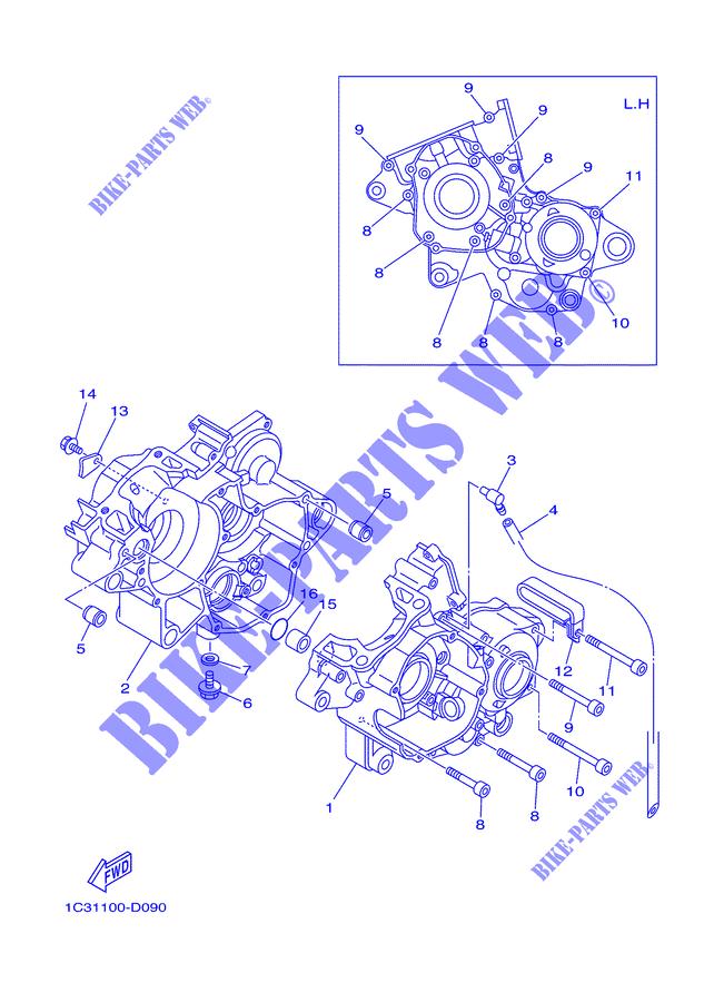 DOWEL; 995301011600 Yamaha 99530-10116-00 PIN