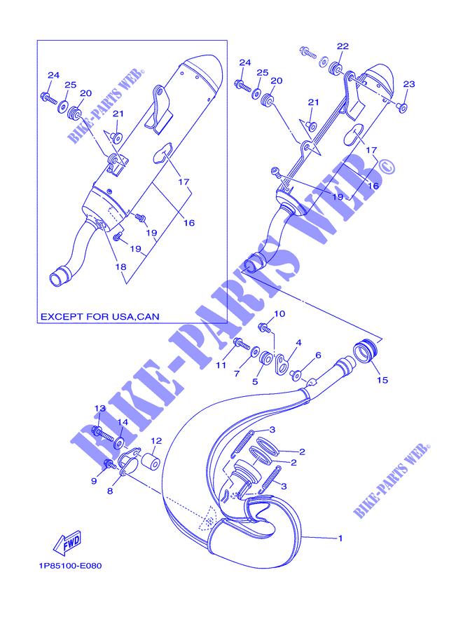 Yamaha 92012-06010-00 BOLT  BUTTON HEAD