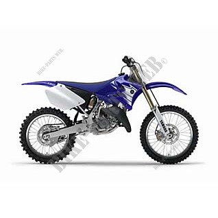 YZ125 YZ125 125 2007 DEEP PURPLISH BLUE SOLID E
